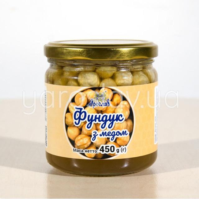 "Фундук  с медом  ТМ ""Ярослав"""