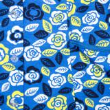 Халат на пуговицах (трикотаж) м.Ф-064 голубой