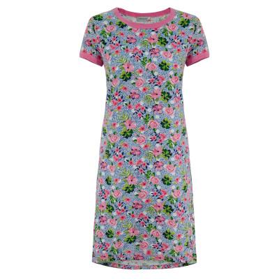 Платье (трикотаж) м.Ф-119 розочки