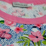 Ночная рубашка (трикотаж) м.Ф-119 розочки