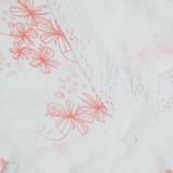 """Ночная рубашка (кулир) ТМ """"Ярослав"""" м.915 персиковые цветочки"""