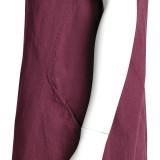 Платье лен ТМ «Ярослав» м.Ф-147 вишневое