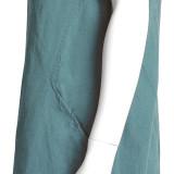 Платье лен ТМ «Ярослав» м.Ф-147 морская волна