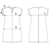 Платье лен ТМ «Ярослав» м.Ф-149 салатовое