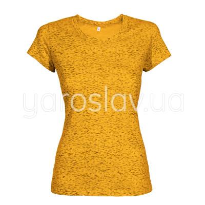 "Футболка ТМ ""Ярослав"" м.318 жёлтая (берёзка) женская"