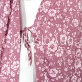 Халат (трикотаж) м.Ф-120 розовый