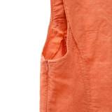 Платье лен ТМ «Ярослав» м.Ф-171 оранжевое