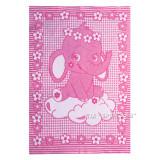 Одеяло Детское Хлопковое _розовое