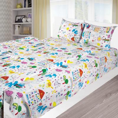 Комплект постельного белья детский Ярослав s979 Сатин