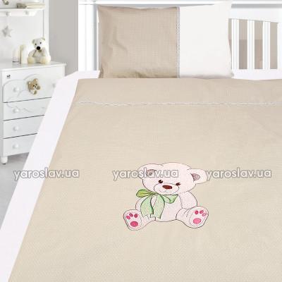Комплект постільної білизни, дитячий, Бязь з вишивкою dv26u