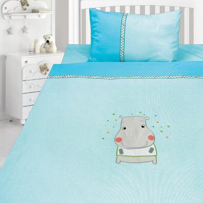 Комплект постельного белья, детский, Бязь с вышивкой dv46a