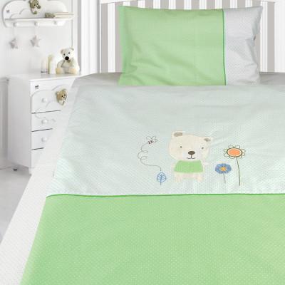 Комплект постельного белья, детский, Бязь с вышивкой dv48c