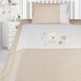 Комплект постельного белья, детский, Бязь с вышивкой dv48d