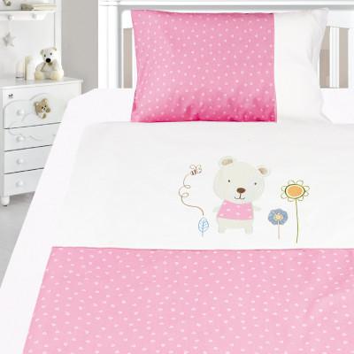 Комплект постельного белья, детский, Бязь с вышивкой dv48y