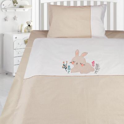 Комплект постельного белья, детский, Бязь с вышивкой dv49e