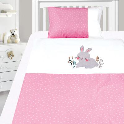 Комплект постельного белья, детский, Бязь с вышивкой dv49y