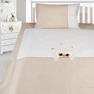 Комплект постельного белья, детский, Бязь с вышивкой dv50a