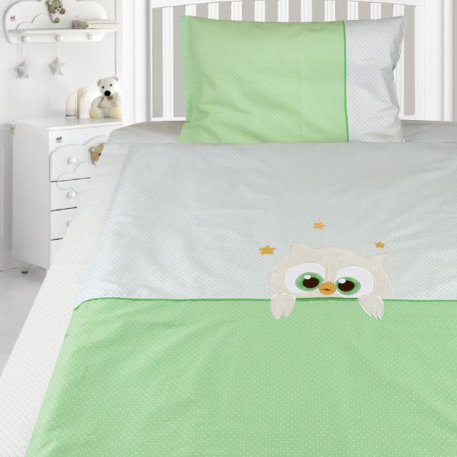 Комплект постельного белья, детский, Бязь с вышивкой dv50