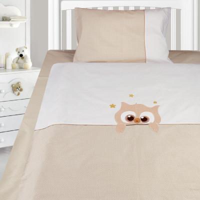 Комплект постельного белья, детский, Бязь с вышивкой dv50a2
