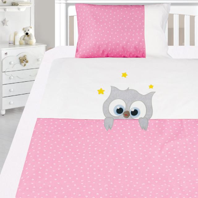 Комплект постельного белья, детский, Бязь с вышивкой dv50b