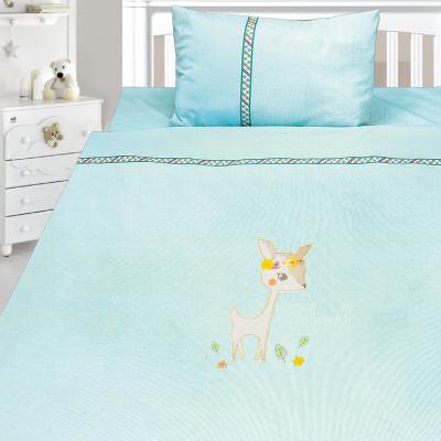 Комплект постельного белья, детский, Бязь с вышивкой dv53