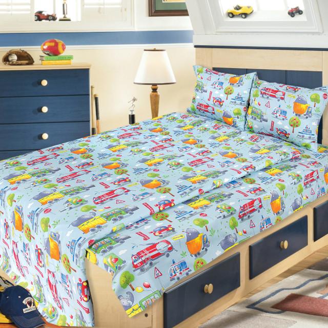 Комплект постельного белья детский Ярослав s974 Сатин
