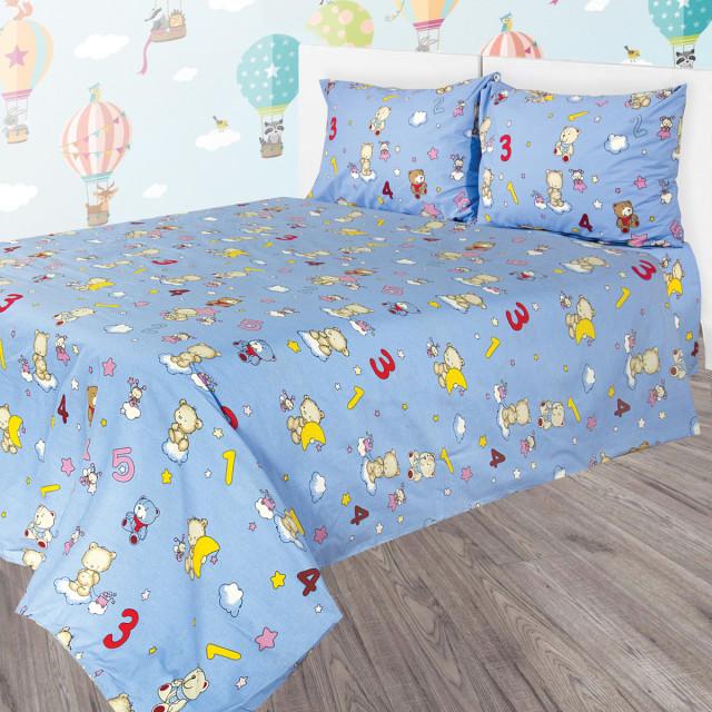 Комплект постельного белья детский Ярослав R77 Бязь