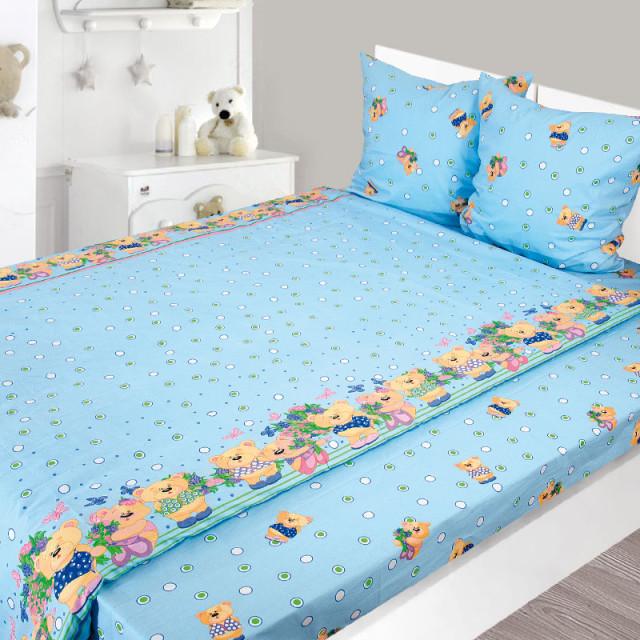 Комплект постельного белья, детский, Бязь pak1291
