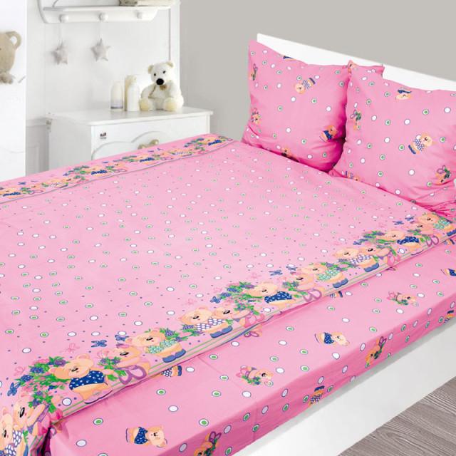 Комплект постельного белья, детский, Бязь pak1291a