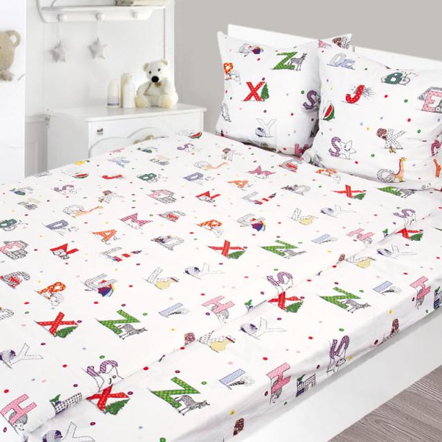 Комплект постельного белья, детский, Бязь pak1293