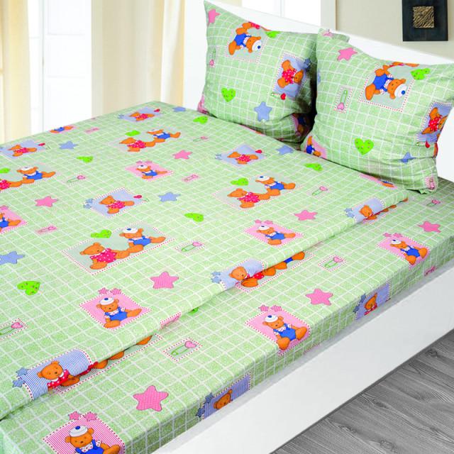 Комплект постельного белья детский Ярослав pak1296 Бязь
