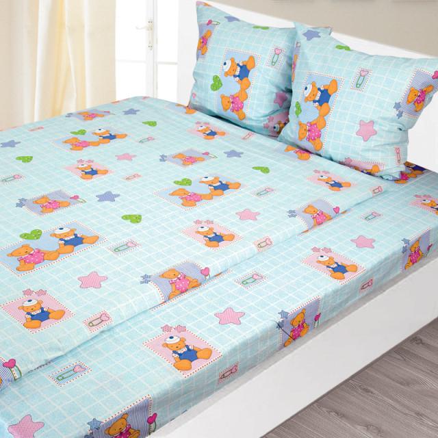Комплект постельного белья детский Ярослав pak1296a Бязь