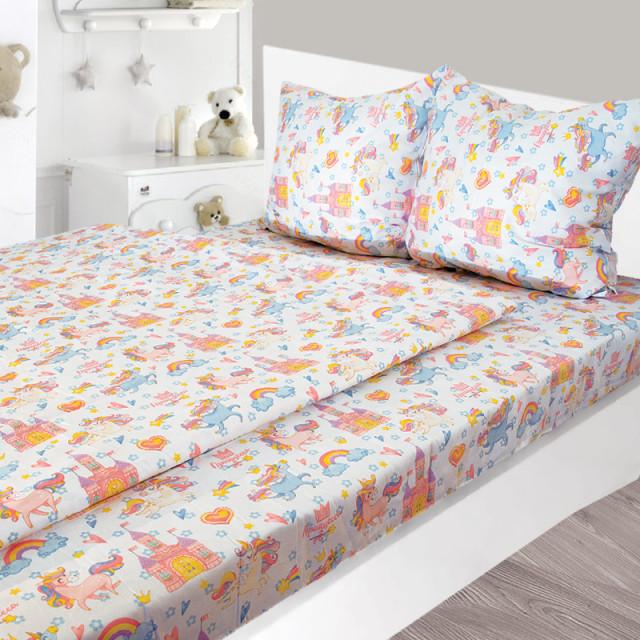 Комплект постельного белья детский Ярослав s964 Сатин