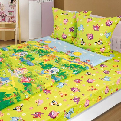 Комплект постельного белья, детский, Бязь t-208