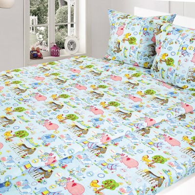 Комплект постельного белья, детский, Бязь t-213