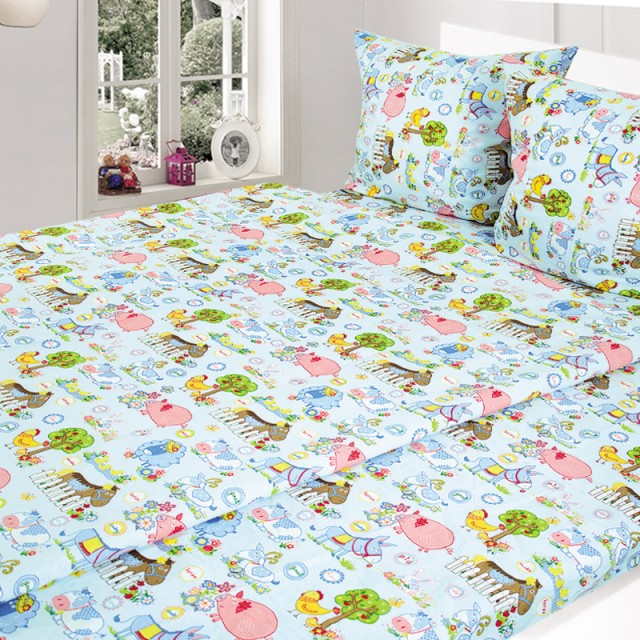 Комплект постельного белья, детский, Бязь t213