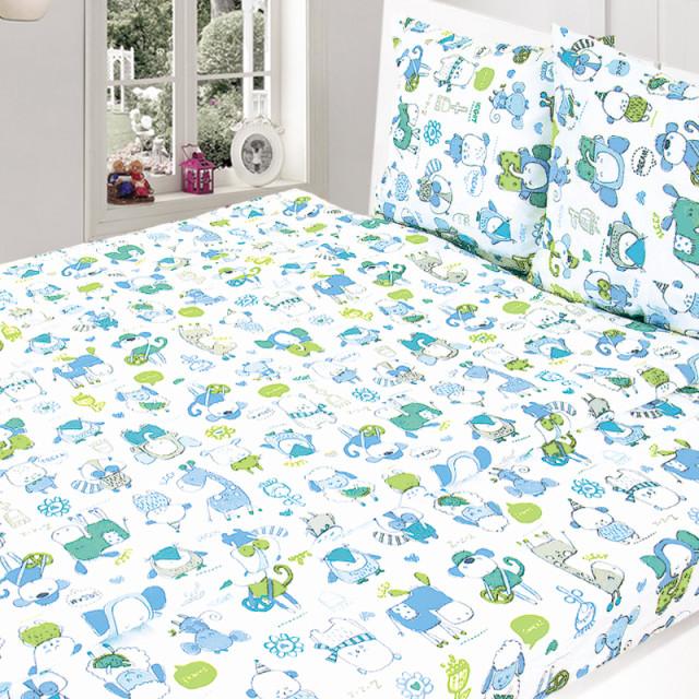 Комплект постельного белья, детский, Бязь t232