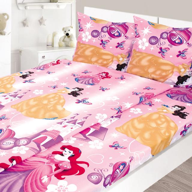 Комплект постельного белья, детский, Бязь tur166
