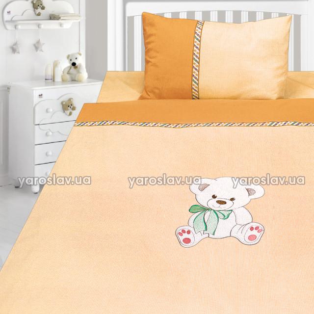 Комплект постельного белья, детский, Бязь с вышивкой dv26e