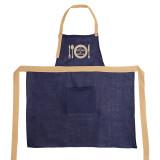 Фартук (лен) с вышивкой ТМ ''Ярослав'' м.К-103 My kitchen my Rules