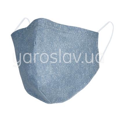 Повязка тканевая СП-260 синий меланж