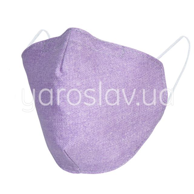 Повязка тканевая СП-260 фиолетовый меланж