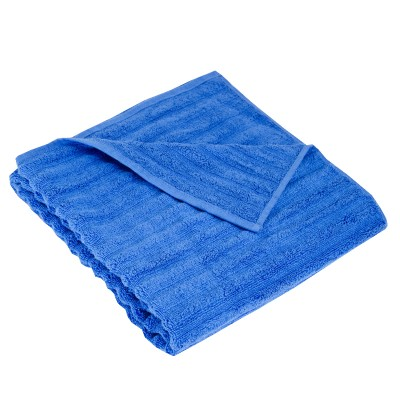 Полотенце махровое ''Ribs'' синее