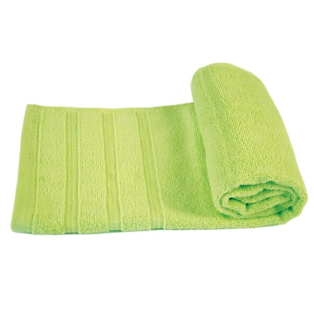 Полотенце махровое Софт-твист ТМ ''Ярослав'' светло-зеленый