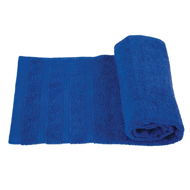 Полотенце махровое Софт-твист ТМ ''Ярослав''_темно-синее
