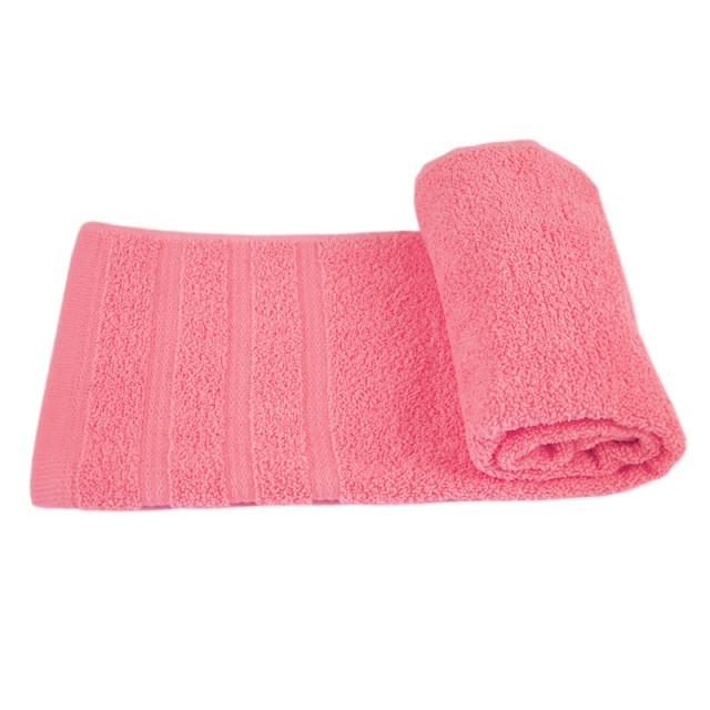 Полотенце махровое Софт-твист ТМ ''Ярослав'' розовое