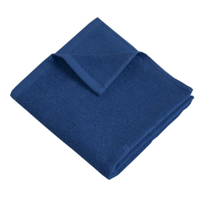 """Полотенце махровое ТМ """"Ярослав"""" (400 г/м2) синее"""