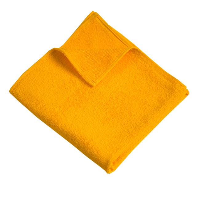 """Полотенце махровое ТМ """"Ярослав"""" (400 г/м2) желтое"""