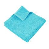 Полотенце махровое гладкокрашеное без бордюра (400 г/м2) бирюзовое