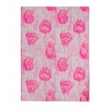 Одеяло из Хлопка Ярослав 1 тюльпаны розовые
